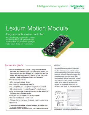 Lexium Motion Module Brochure